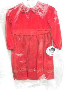 3fb883b5e20 Image is loading NWT-Sarah-Louise-Girl-039-s-Red-Velvet-