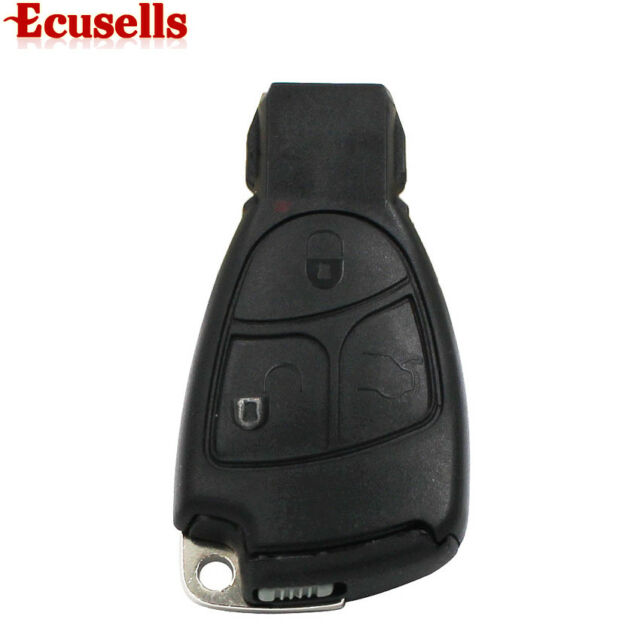 For MERCEDES BENZ SMART KEY FOB REMOTE SHELL 3 BUTTON +Battery Holder small key