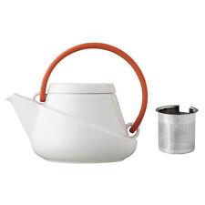 Japanische designer Teekanne RIDGE hergestellt in Japan Orangebraun Kanne 750ml