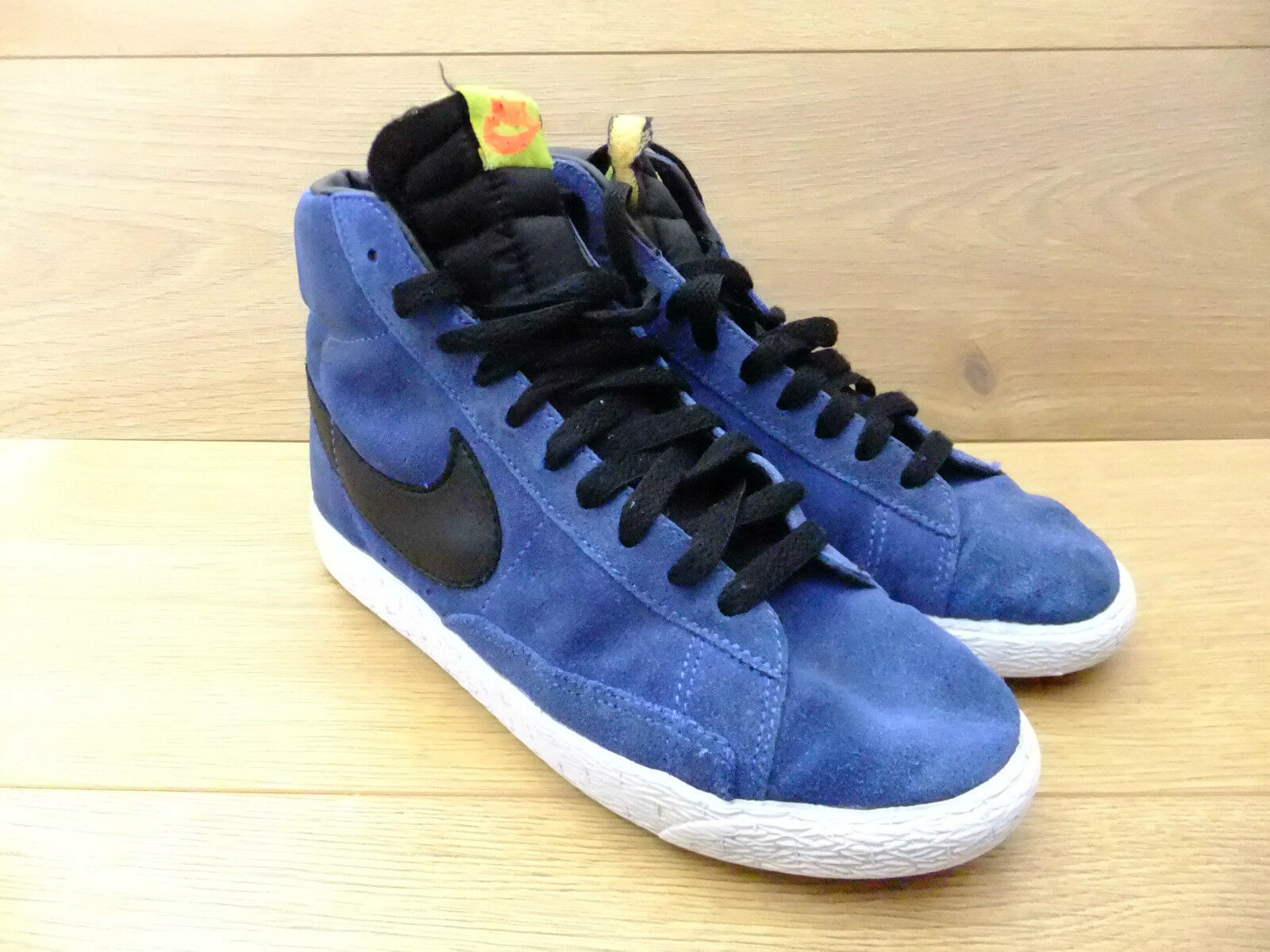 Nike Blazer Hi Tops Suede Trainers Casual Shoes Size