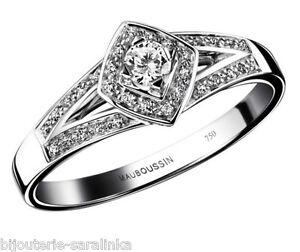 bague diamant mauboussin