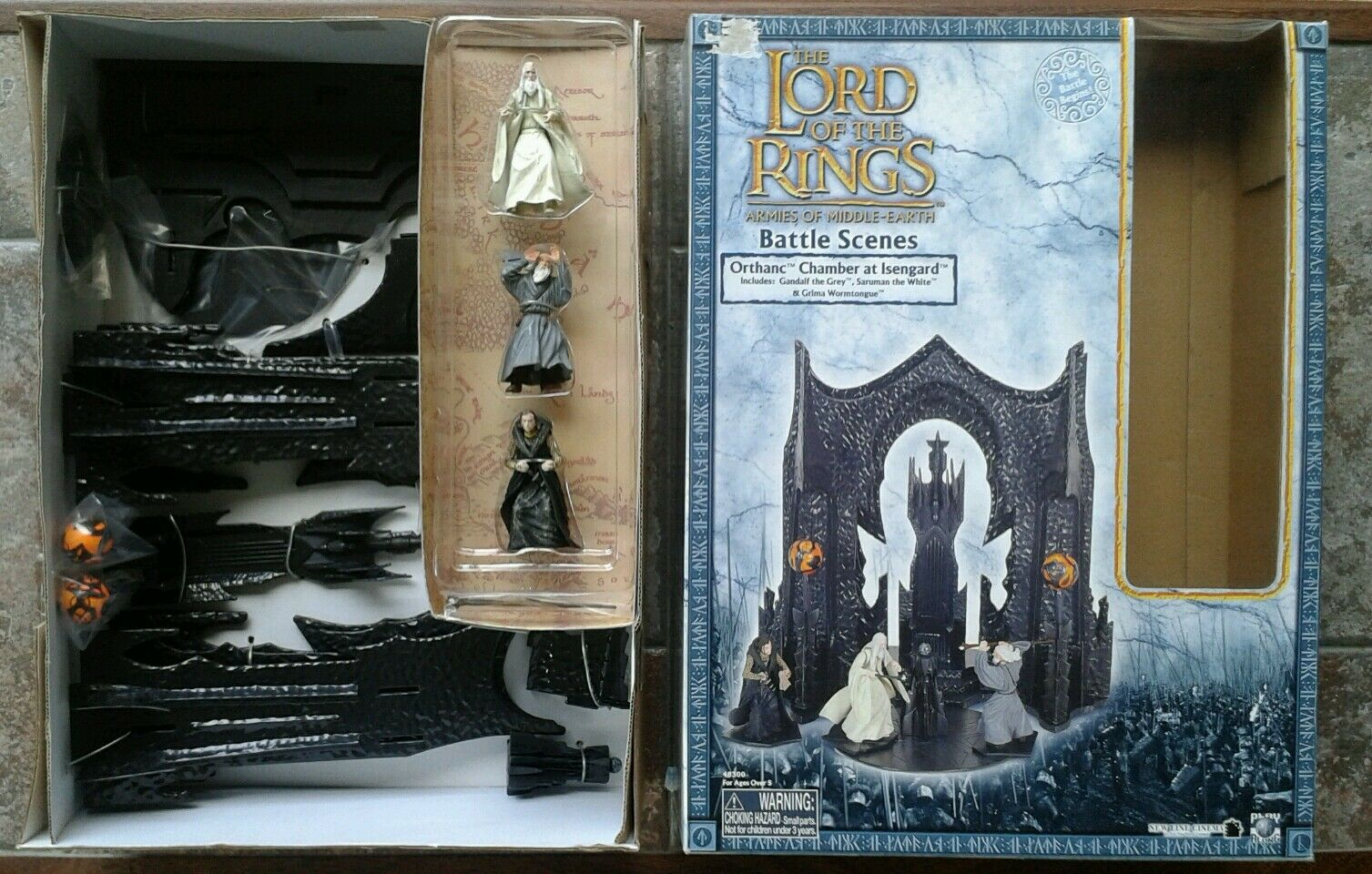 LOTR Armies Armies Armies of Middle Earth Orthanc Chamber at Isengard a1af29