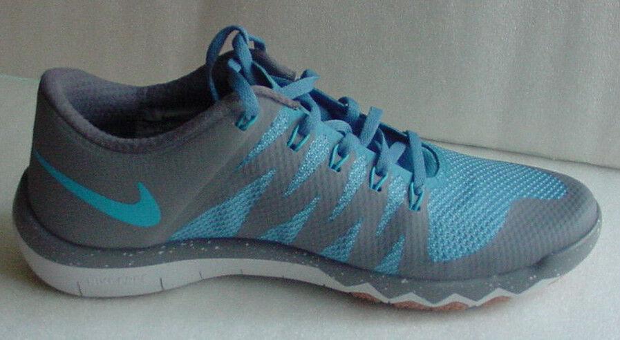Pennino nike libera trainer v6 scarpa 719922-004 grigio - blu Uomo sz 10 - 11