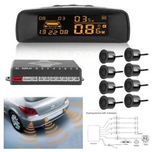 Voiture-Capteurs-Parking-Stationnement-Radar-de-Recul-Arriere-avec-8-Sensors