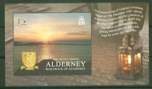 Alderney-2005-60-Jahrestag-Rueckkehr-der-Bewohner-nach-Kriegsende-Block-17