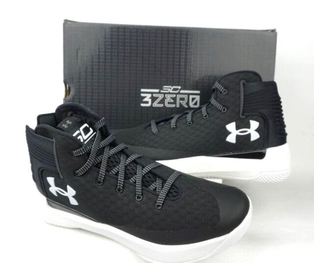 cf322c0d480e Under Armour Mens UA SC 3Zero Basketball Shoe  1298308-Black Mens Sz8.5M