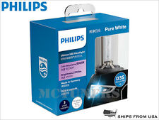 2 x NEW PHILIPS Ultinon 6000K D3S 42403 WXX2 HID Xenon BULBS MADE IN GERMANY