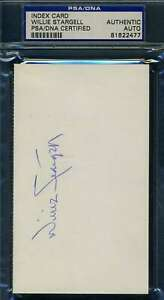 Willie-Stargell-PSA-DNA-Coa-Autograph-Hand-Signed-3x5-Index-Card