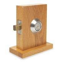 Kaba Ilco 45-1-4-04-26d-5-2-5-sc-kd Deadbolt, 1 1/4 X 2 3/4 In Strike, Chrome