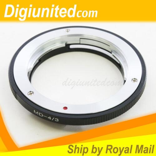 Minolta MC MD mount lens to Olympus Four Thirds 4//3 mount adapter E-3 E510 E620