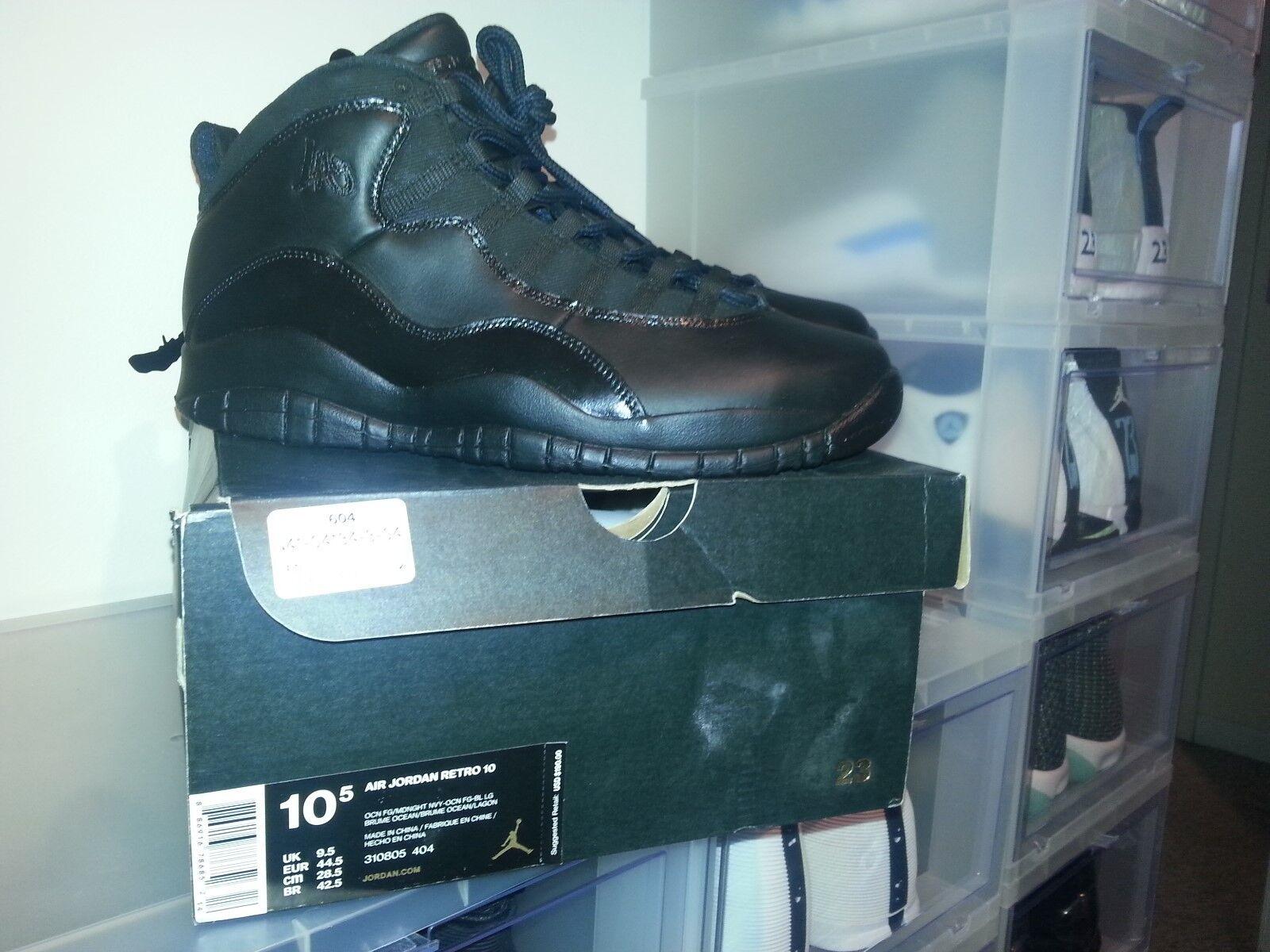 Jordan 10 retro, la Negroout Project, tamaño 10,5, 9 / de 10 Estado baratos zapatos de mujer zapatos de / mujer 127d66