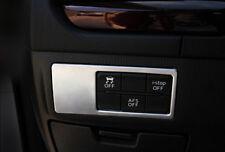 Interior Head Light Switch Button Cover Trim 1pcs For Mazda 3 AXELA M3 2014-2017