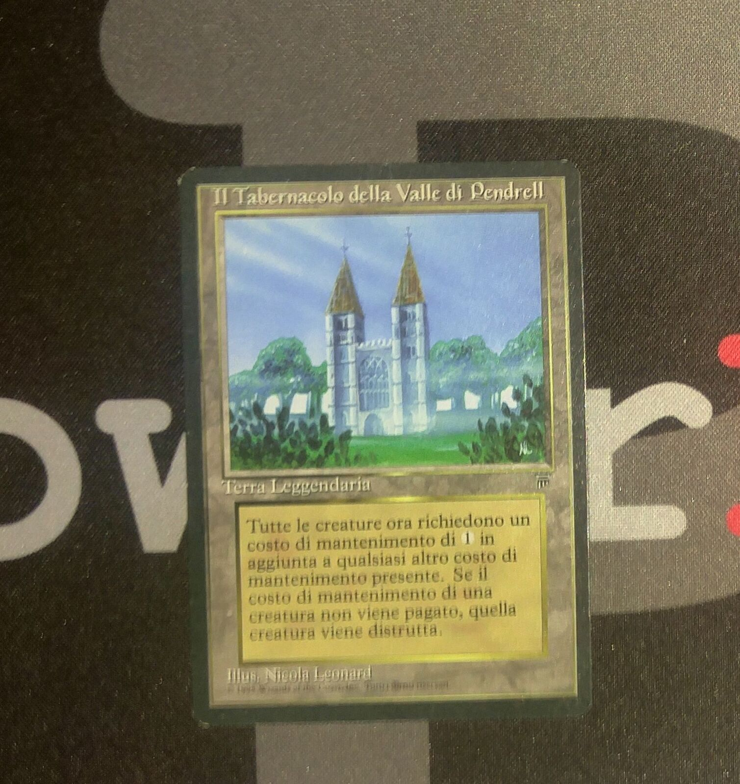 1 Tabernacle at Pendrell Vale-The Legends MTG Magic Tierras Rare Old School