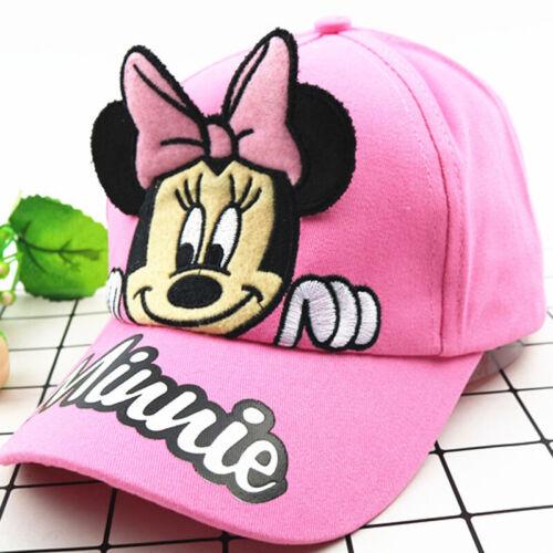 Kinder Cap Mickey Minnie Mouse Mädchen Jungen Baseball Caps Kappe Sonnenhut Mode