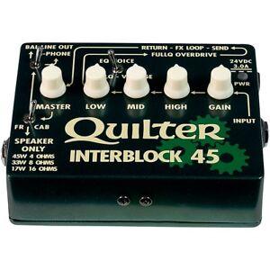 quilter labs interblock 45 45w guitar amp head 854710003758 ebay. Black Bedroom Furniture Sets. Home Design Ideas