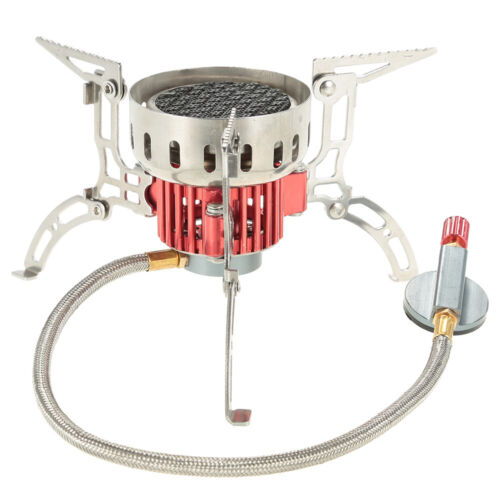 Outdoor IR Camping Gas Stove Portable Picnic Hiking Cooking Burner Backpacking