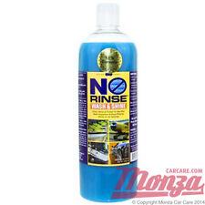 Óptima sin enjuague coche/moto lavado Champú & Brillo 946ml ** ** lavado rinseless