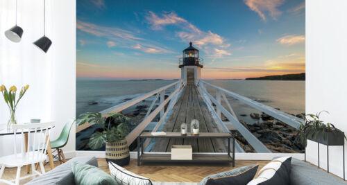 Fabelhafte 3D Effekt VLIES FOTOTAPETE XXL Jettys Leuchtturm 8501 Wohnzimmer
