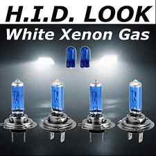H7 H7 501 55w White Xenon HID Look Headlight Low High Beam Bulbs E Marked