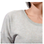thumbnail 3 - Active Life Women's Lightweight Side Slit Modal Sweatshirt, Grey Confetti  Small