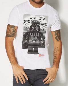 Lego-STAR-WARS-DARTH-VADER-STORM-TROOPERS-T-Shirt-NWT-Licensed-amp-Official