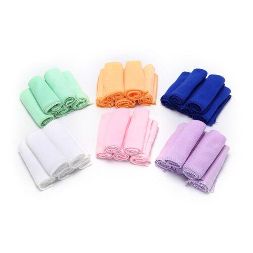 5pcs 25*25 Microfiber Drying Towel Multi-Color Soft Towel Hand Towel FT