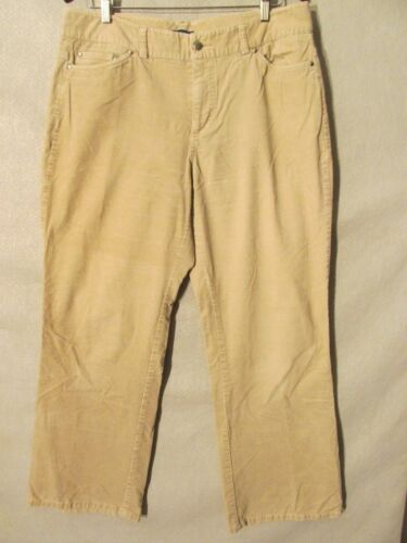 F2134 Dockers Beige Corduroy High Grade Boot Cut P