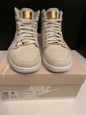new products 241eb 5922f item 4 Nike Air Jordan Retro 1 Pinnacle SZ 9 White Metallic Gold W  24k Gold,  RARE! -Nike Air Jordan Retro 1 Pinnacle SZ 9 White Metallic Gold W  24k Gold,  ...