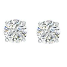 1/3ct TW Round Diamond Stud Earrings in 14K Gold