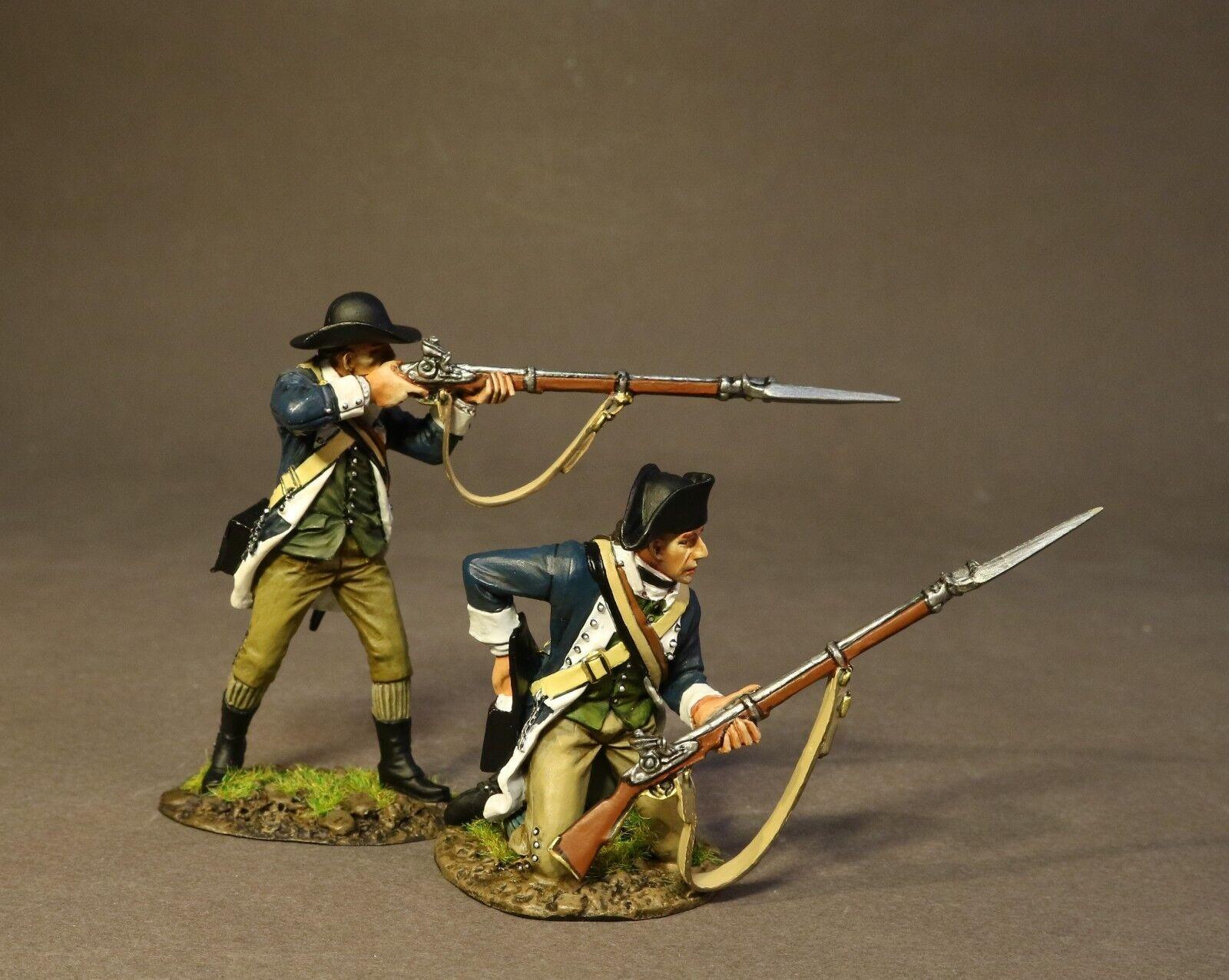 John Jenkins Trommeln entlang der Mohawk SMASS-06 2nd Masse Regiment Skirmishing