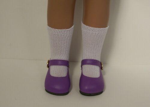 """LAVENDER Basic LL Doll Shoes FOR 16/""""- 17/"""" Sasha Debs DK Dark"""