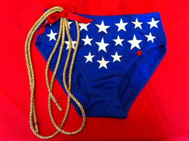 wonder woman hot pants. or briefs, pants, bikini stars +1.5 meter blinged Lasso