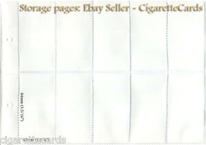 10x-Cigarette-Trade-Card-STORAGE-PAGES-Choice-of-Size