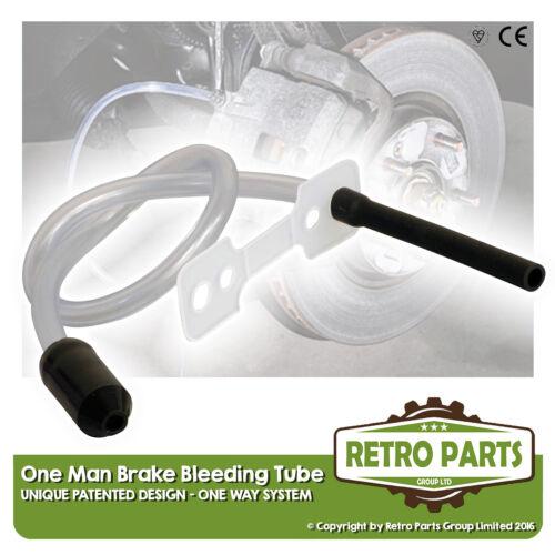 One Man Hydraulic Brake Bleeding Kit One Way Tube for Ford Sierra DIY