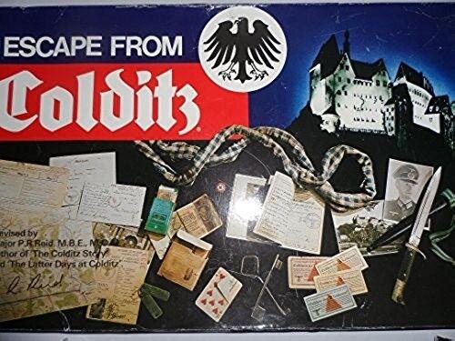 VINTAGE Escape da Colditz by Gibson anni 1980 COMPLETO
