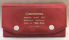 Mitutoyo 186 906 Radius Gauge Set