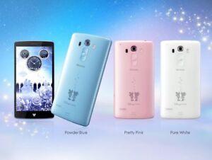 "DOCOMO LG DM-01G DISNEY SWAROVSKI ANDROID 5"" 4G LTE SMARTPHONE UNLOCKED"