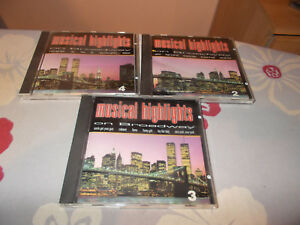 """Drei CDs"""" Musical Highlights on Broadway 2-4"""" - Plaidt, Deutschland - Drei CDs"""" Musical Highlights on Broadway 2-4"""" - Plaidt, Deutschland"""