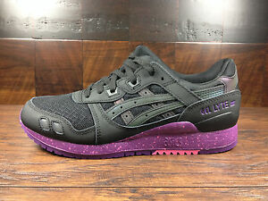 quite nice 1bc3f 090e6 Details about Asics GEL-LYTE 3 III (Black/Purple) Borealis Pack  [H6X0L-9090] Running Mens