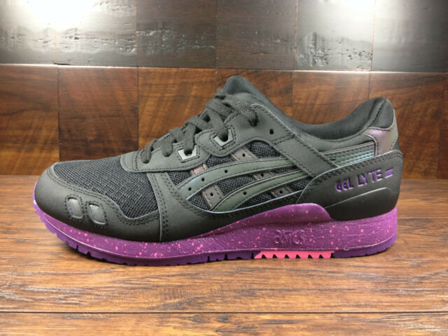 official photos a57ad 7dbb5 Asics GEL-LYTE 3 III (Black/Purple) Borealis Pack [H6X0L-9090] Running Mens