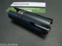 10/22 1022 10-22 Muzzle Brake Compensator Black 1/2-28 1/2x28 .5-28 Made In Usa