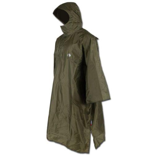 Tatonka Regenponcho Cape Poncho Regenbekleidung Regenschutz Umhang oliv