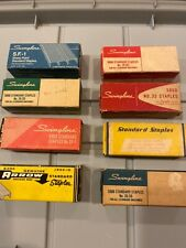 Huge Lot Of 8 Vintage Staples Swingline No35 Genuine Arrow Staplex Usa