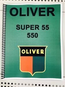 Super 55 Oliver Tractor Technical Service Shop Repair Manual ... on