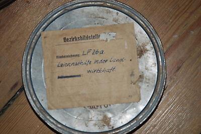 """16mm Film """"laiennothilfe In Der Landwirtschaft"""" FöRderung Der Produktion Von KöRperflüSsigkeit Und Speichel"""