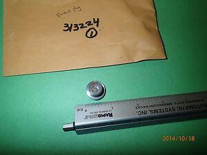 NEW OMC 313224, 0313224, OIL FILL PLUG, UPPER GEAR CASE