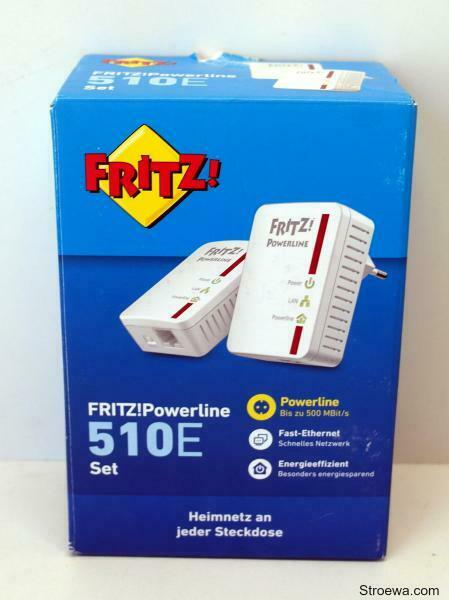 AVM FritzPowerline 510E Set (500 Mbit/s, Fast-Ethernet-LAN)- Ausstellungsstück
