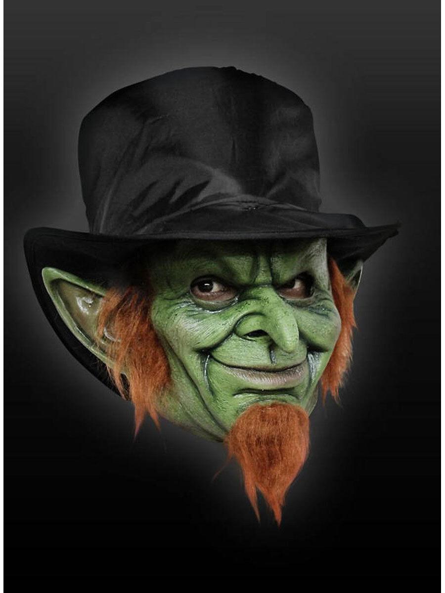 Masque pour les Adultes  Irlandais Kobold  latex universel Taille d'Horreur Costume