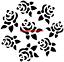 Flor Hibiscus Mylar plantilla Artesanía Decoración de Hogar Pintura Pared Arte 125//190 micras