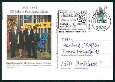 Vorsichtig Brd Privat-ga 1991 Aktion Sorgenkind Peter Frankenfeld Sparbier Sinsheim Du87 Rabatte Verkauf Deutschland Ab 1945